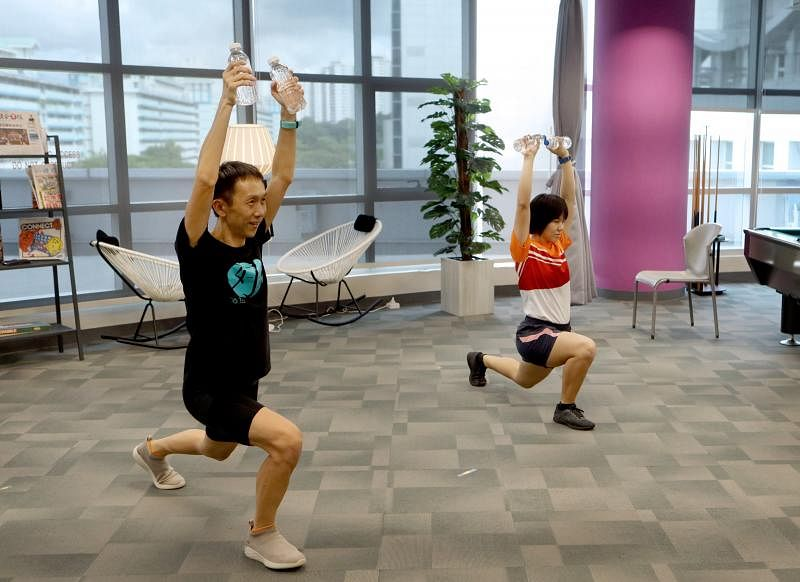 Come 'n exercise week 13 active health coach joelle chan