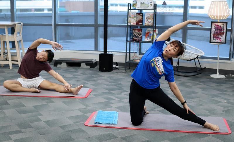 Come n Exercise Week 15 Rachel Tan