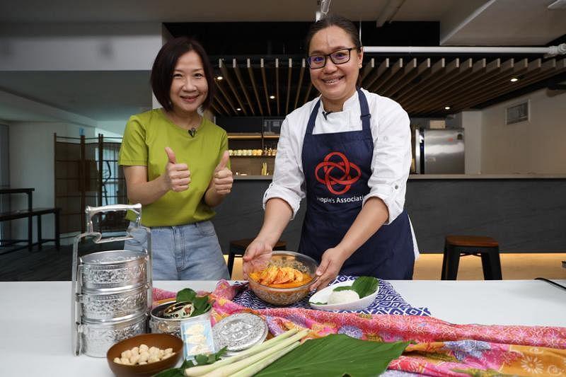 Attend-tion Kitchen Chef Jenny Nyonya