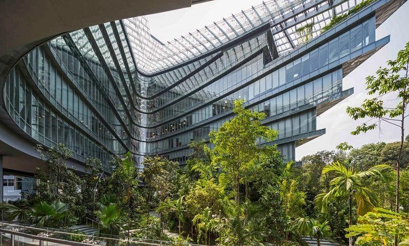 想不想走进卢卡斯影业(Lucasfilm)新加坡的总部大楼Sandcrawler?