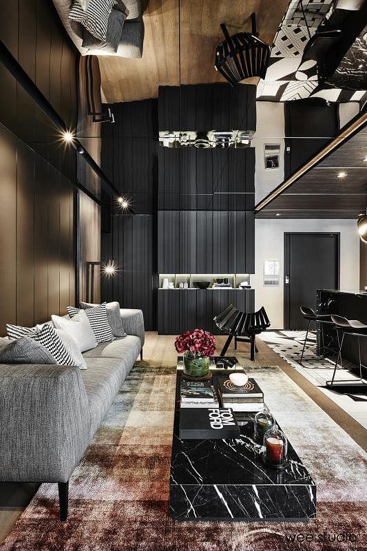 杨世辉与妻子叶结晶亲自设计的安乐窝获颁1001至2000平方英尺面积组别的新加坡公寓住宅设计金奖。
