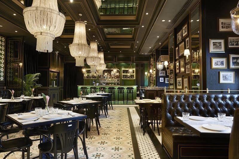 位于新加坡国家美术馆的National Kitchen美轮美奂。