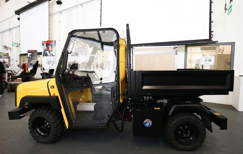 Ant Truck能在半小时内充电,行驶10公里。