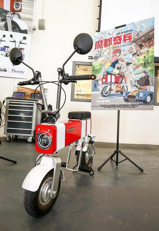 50cc电动单车Motochimp无缘在本地行驶。