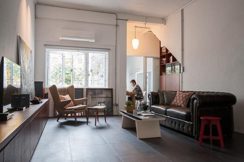 客厅在所有房间中面积最大,予人宽敞和开阔的感觉。