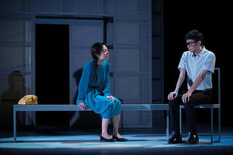 九年剧场的《画室》是今年颇受好评的全新华语剧。(档案照)