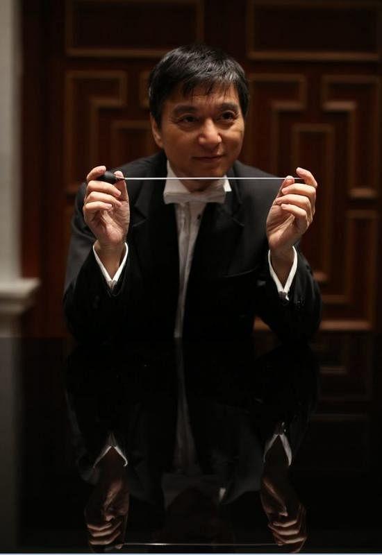 水蓝宣布2019年卸下新加坡交响乐团音乐总监职务,许多乐迷大感惋惜。(档案照)