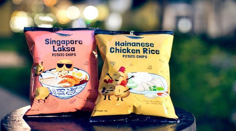 F.EAST的新加坡叻沙和海南鸡饭口味薯片卖到断货。