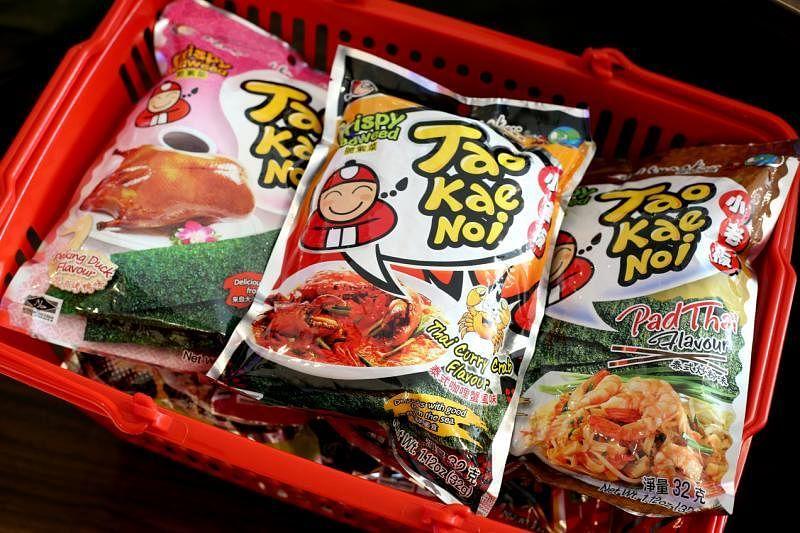 小老板紫菜零食以亚洲热食为号召,有咖喱螃蟹、泰式粿条和北京烤鸭等。