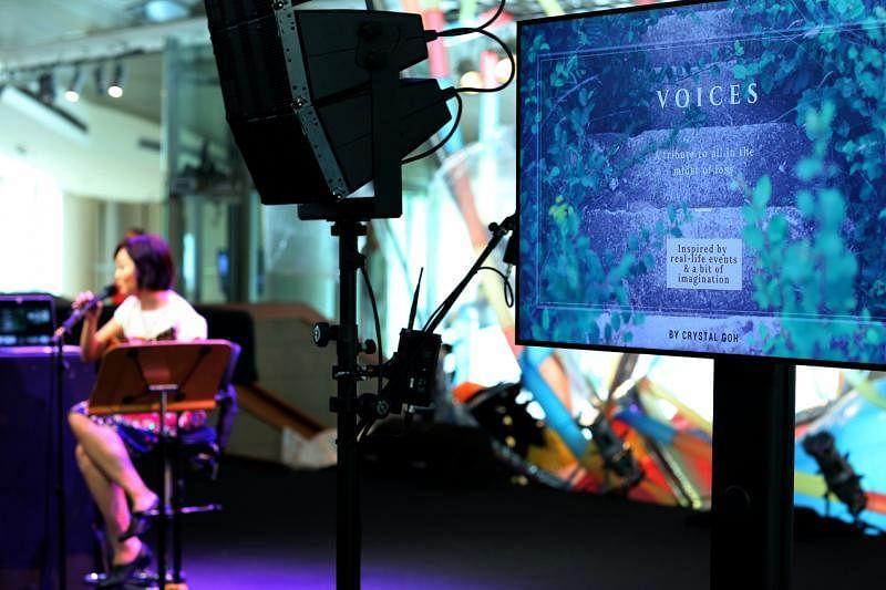 吴晶莹的歌曲风格偏向简约,她认为音乐是生活的绿洲,简单而美好。