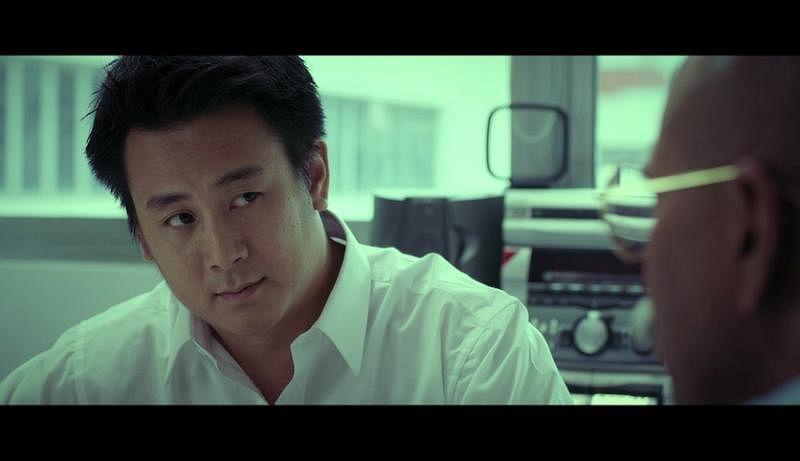 演员袁伟诚在《阿里巴巴》饰演冯时光,但冯时光觉得样子不像他。(blue3asia提供)