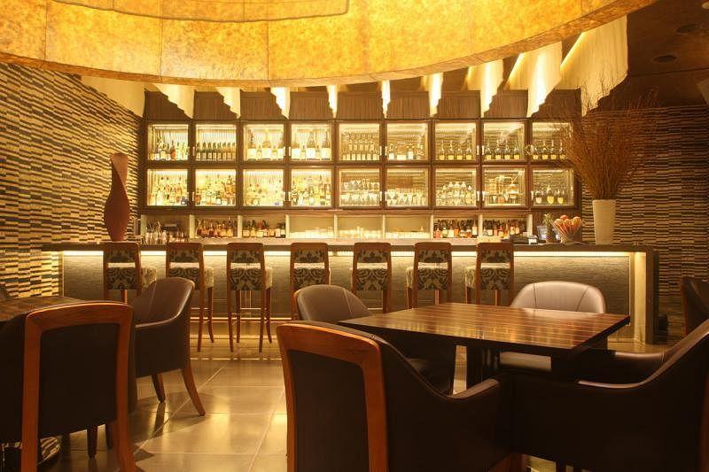 餐馆空间宽敞,设置了不同用餐区,让食客拥有个人空间。(受访者提供)