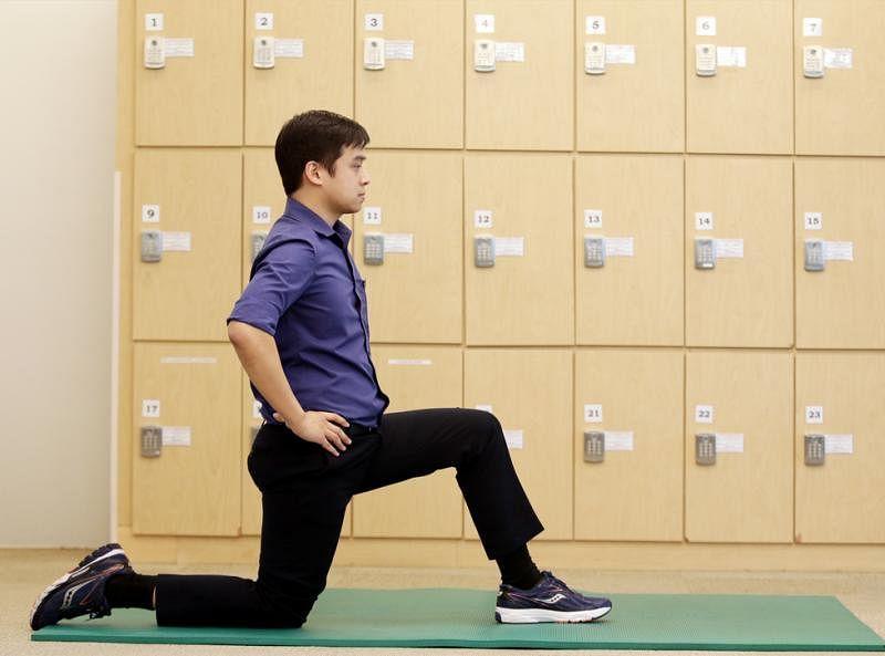 髋屈肌伸展运动