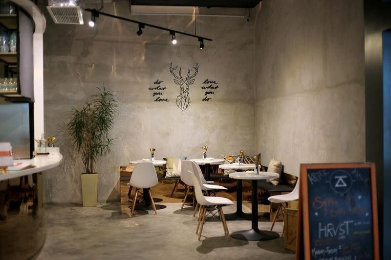HRVST餐馆走简约设计。(受访者提供)