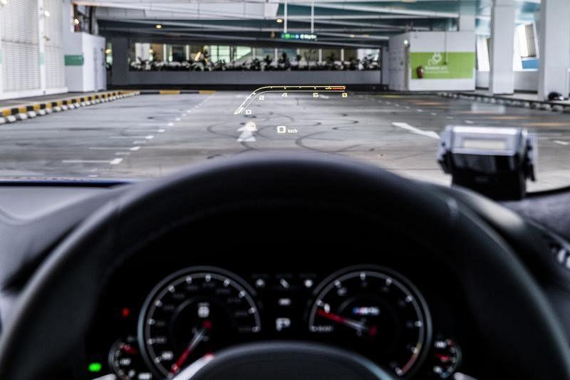 包括M全彩平视显示系统在内的功能参数都可设置,驾驶时可快速一键切换。
