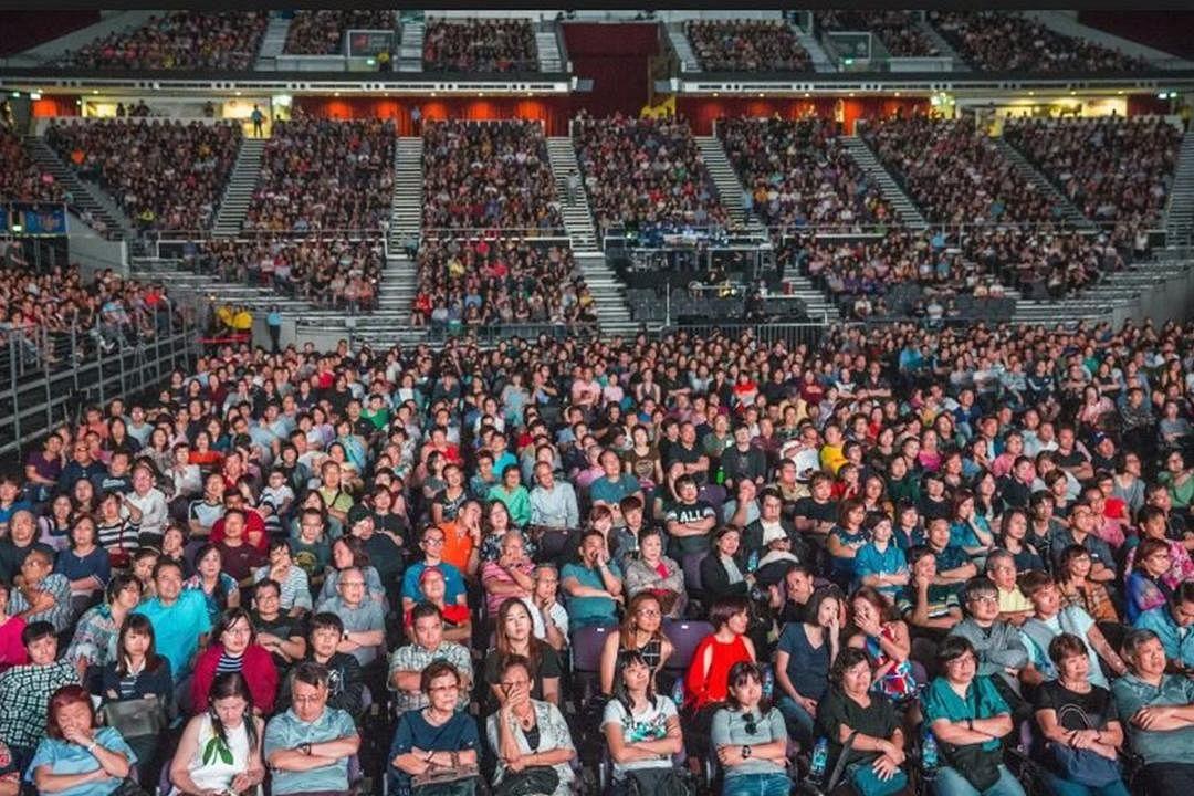 7500人在首首经典新谣中重温美丽回忆。(照片:弹唱人提供)