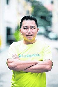 任成志,Jack Yam(45岁,攀岩教练)