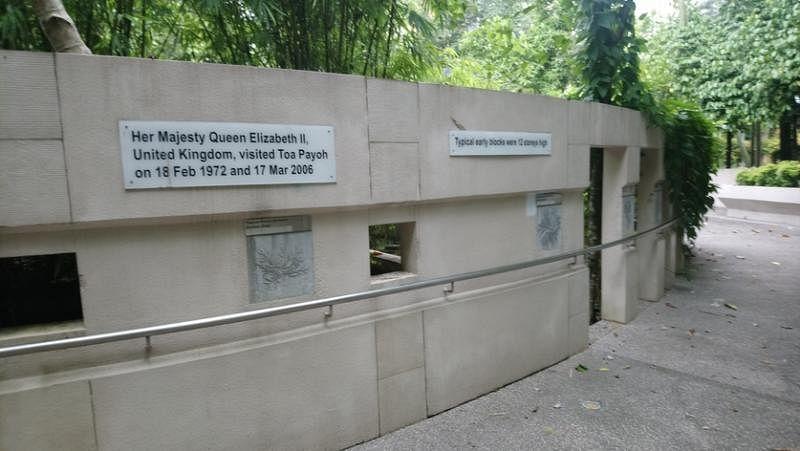 """大巴窑感官公园内的""""大巴窑历史走廊""""。"""