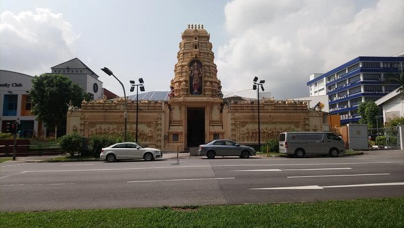 维达帕提雅卡拉曼印度庙。