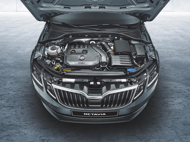 Octavia采用1升TSI涡轮增压汽油引擎。