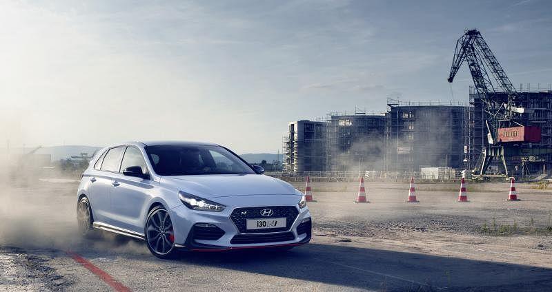 i30 N是现代汽车N级品牌下的第一款高性能车型。(车商提供)