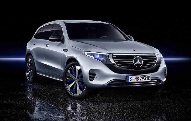 EQC是马赛地首款全电动轿车。(车商提供)