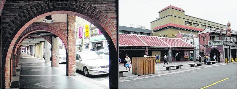 剥皮寮老街早期是商业交易极为繁忙的地区,是从清朝至今保留得最完整的旧有街型和建筑。