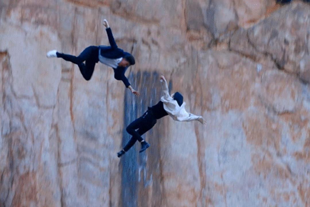 钟汉良最难忘《凉》中的一场跳崖戏。(互联网)