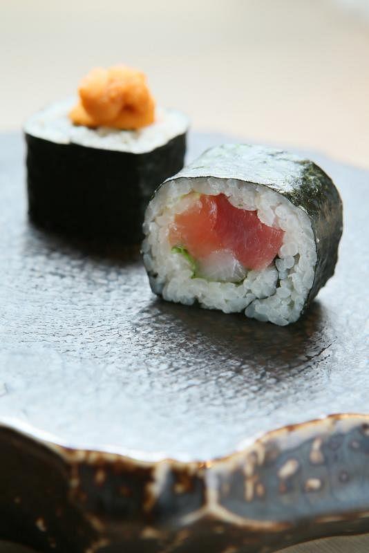Ayumu Roll招牌寿司卷。