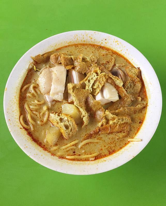 福海(芳林)咖喱鸡面 - Hock Hai Curry Chicken Bee Hoon Noodle