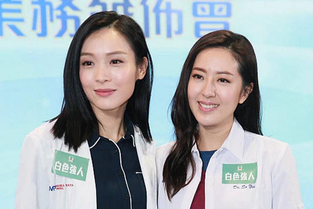 唐诗咏(右)和李佳芯在近期的《白色强人》中表现亮眼。(互联网)
