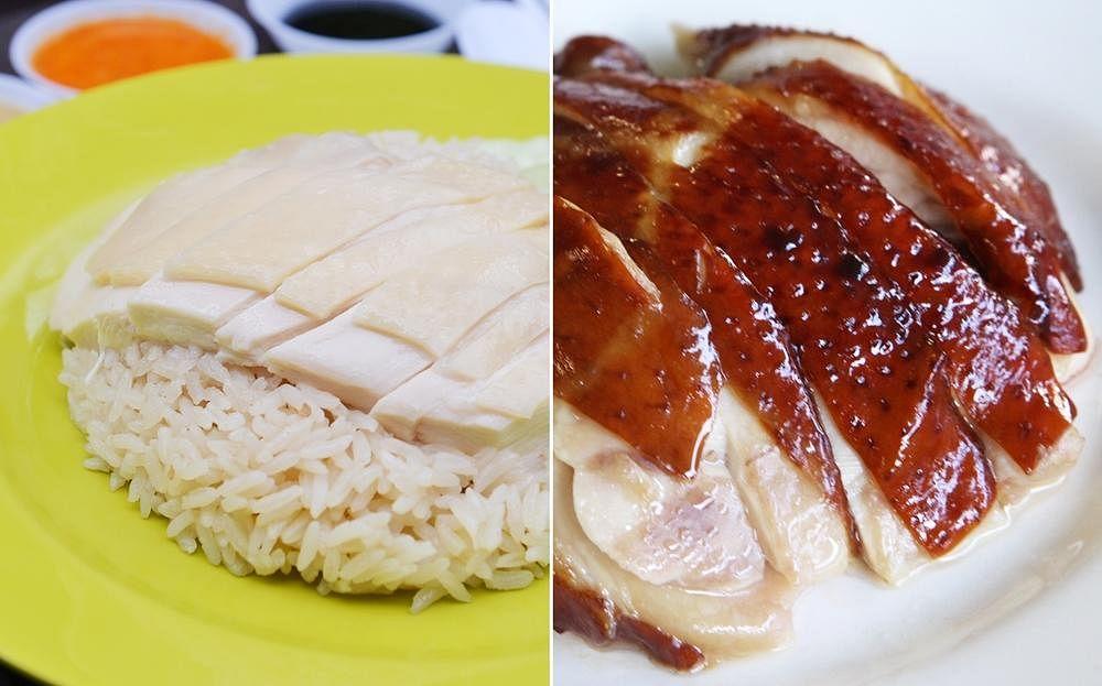 海南鸡饭 油鸡