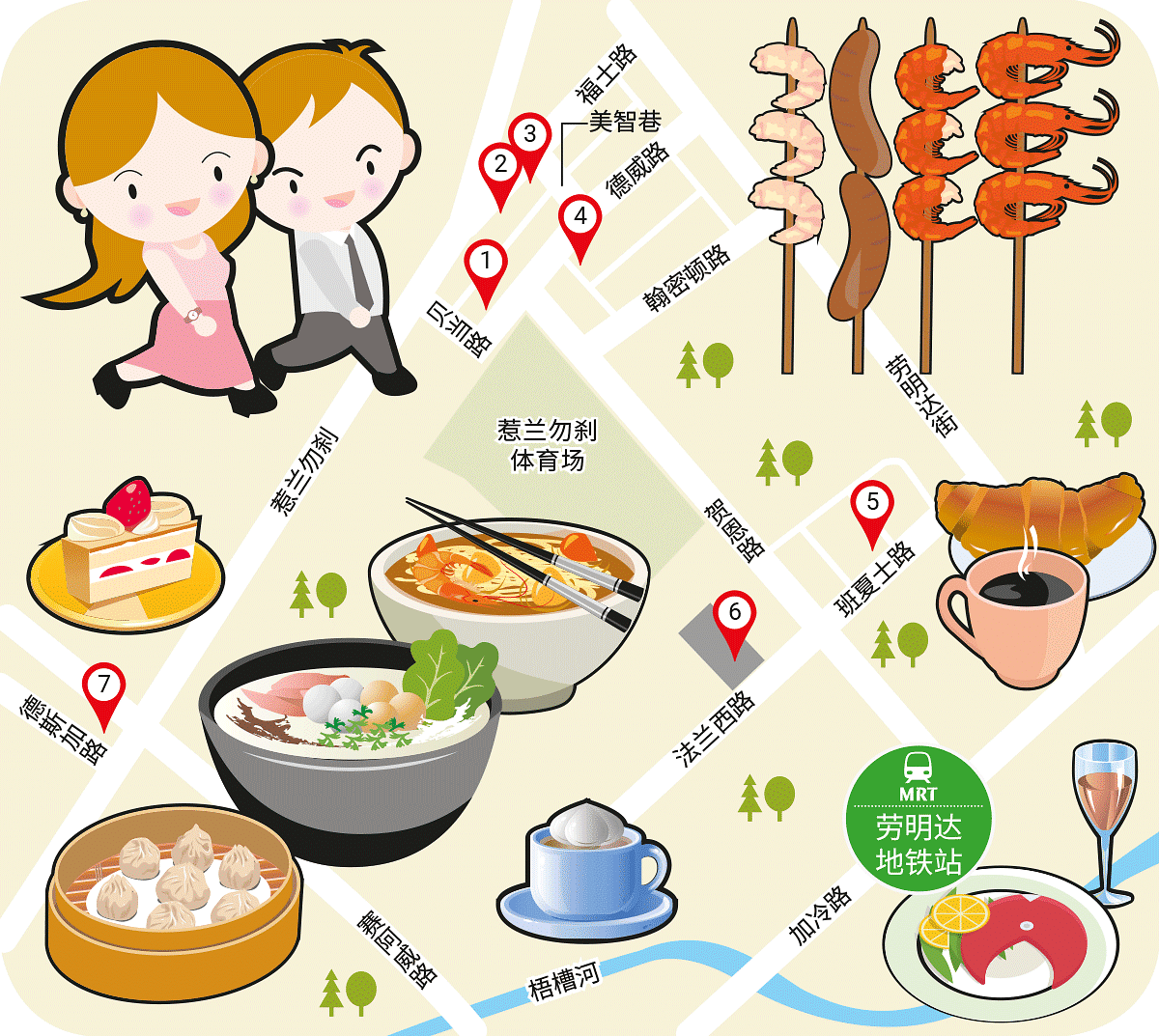 Wanbao Food Search @Jalan Besar & Lavender MRT Stations