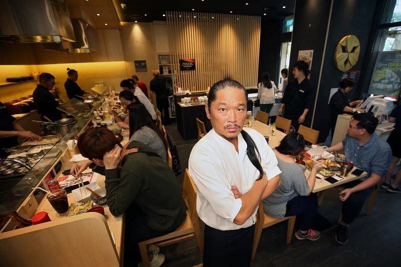 Keisuke集团主席竹田敬介希望不断寻求突破和带给食客新体验,即使新概念一推出就高朋满座,他也不轻易复制。(龙国雄摄)