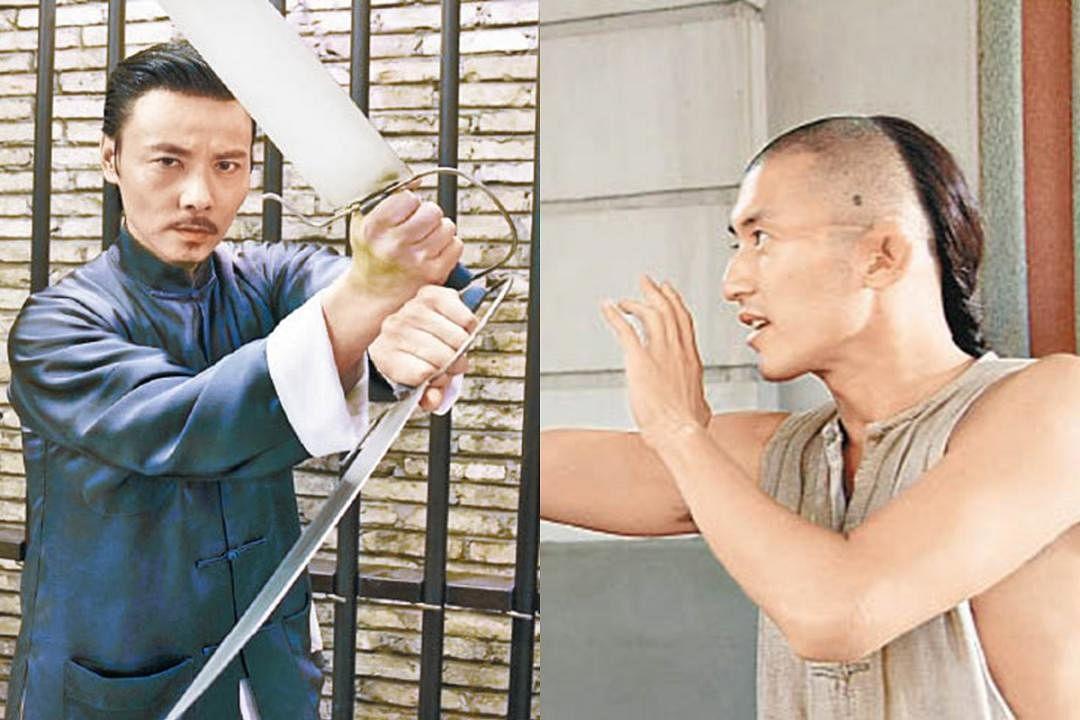 甄子丹点名谢霆锋(右)和张晋(左)接棒。(互联网)