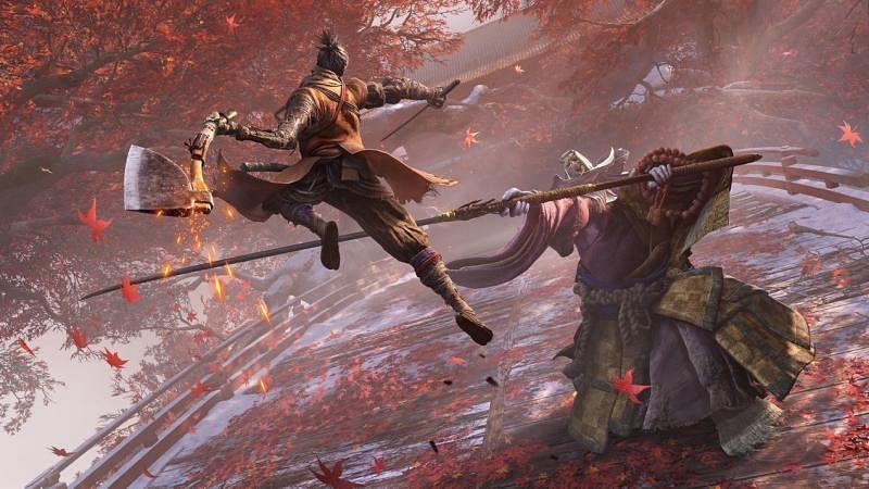 《只狼:影逝二度》的每一场比武对决都像与死亡来一场绚丽多姿的舞蹈。