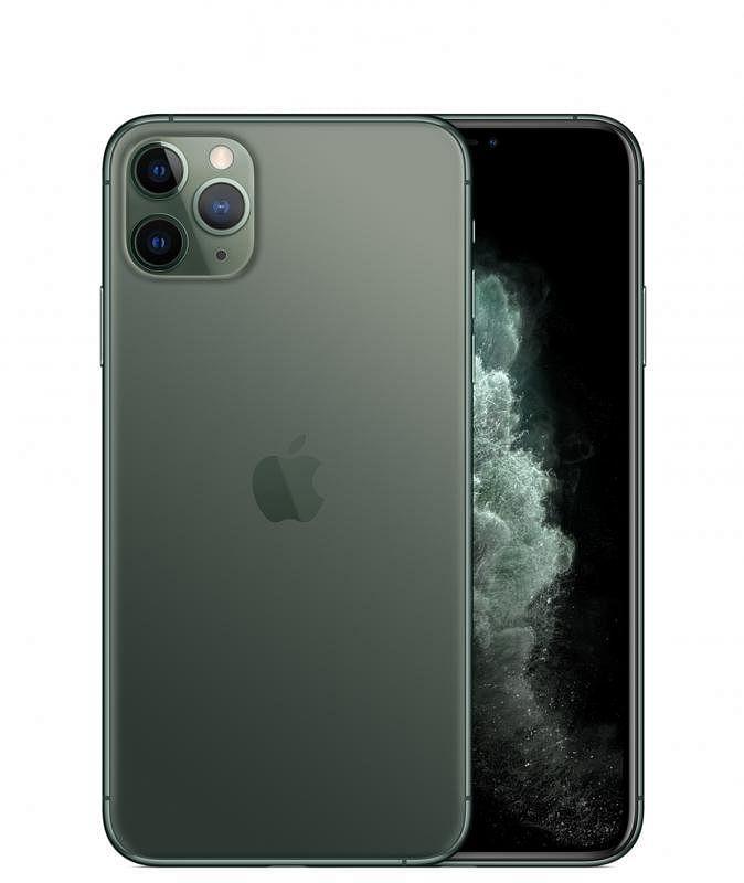 """苹果iPhone 11 Pro Max采用""""三摄""""镜头组合。"""