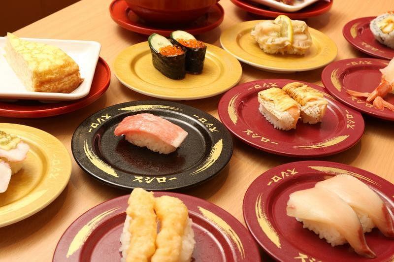 寿司郎在乌节伊势丹史各士门店的寿司,价格保持大众化(品牌提供)