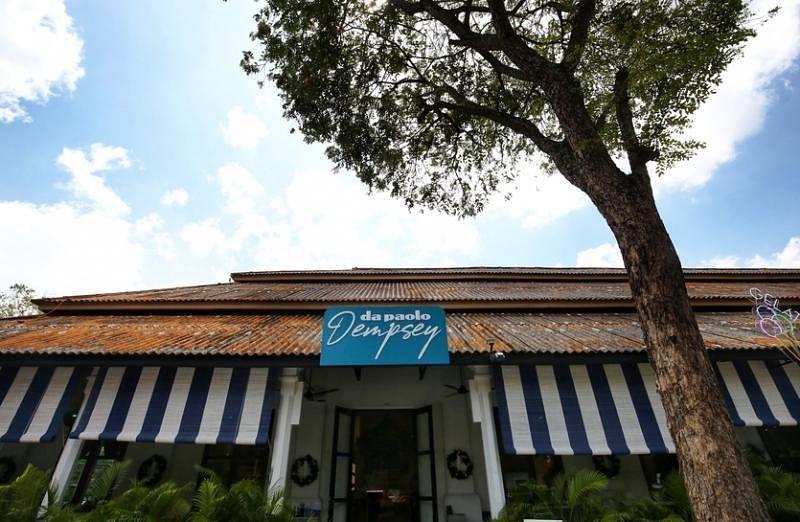 位于登布西的Da Paolo餐馆,充满意大利南部风情。