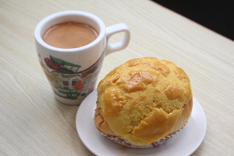 欢乐冰室将售卖来自香港金记冰室的港式丝袜奶茶和菠萝包。(受访者提供)