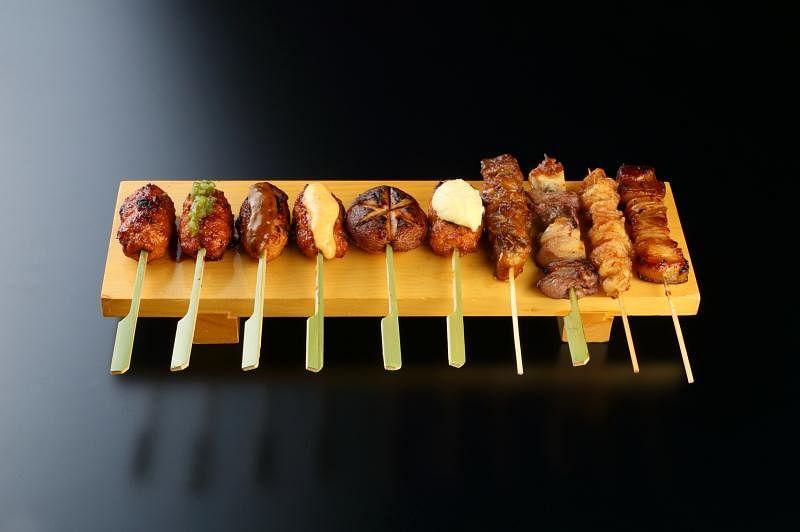 Amazing Hokkaido的肉丸七式,可搭配不同酱料。