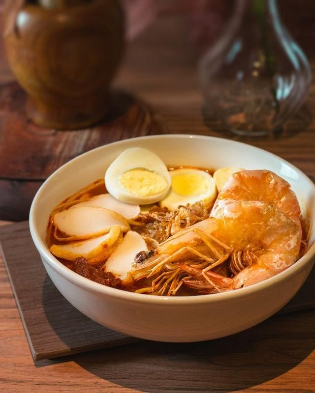槟城人口中的福建面,就是本地人所说的虾面,但食材和汤底略有不同。(受访者提供)
