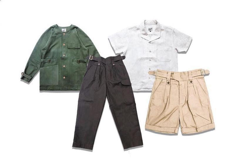 郑淦翔改良设计的廓尔喀裤造型百搭。