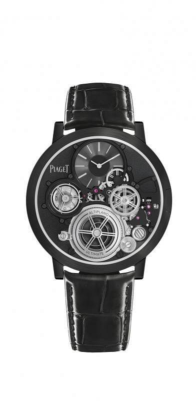 伯爵的全新力作Altiplano Ultimate Concept终极概念腕表,是全球最薄。