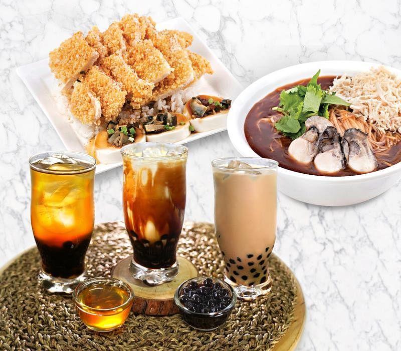 士林台湾小吃推出三款泡泡茶抢攻市场。