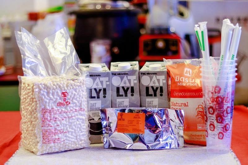 里喝将在疫情后继续售卖泡泡茶DIY配套。