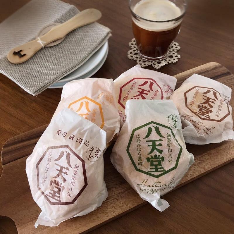 八天堂的招牌奶油面包。(互联网)