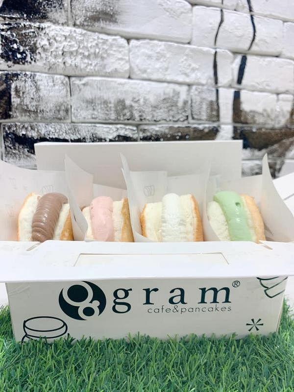 Gram Cafe & Pancakes的舒芙蕾松饼。(互联网)