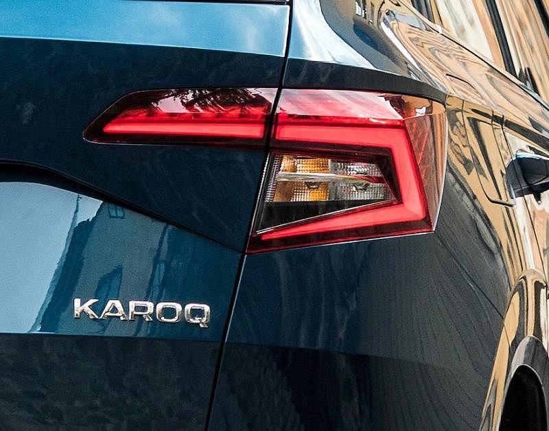 线条明显的车尾灯,突显车子的灵性。