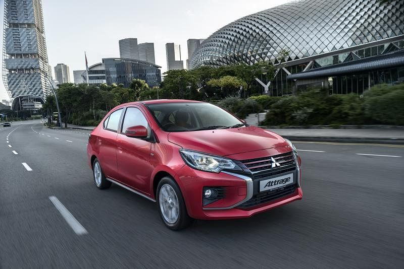 全新的Mitsubishi Attrage将在下半年面市。(车商提供)